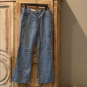 Anthropologie Pilcro Linen Pants sz 30